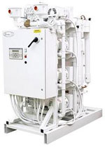 oil free scroll medical air compressor