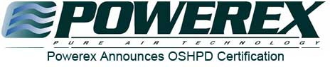 Powerex Medical Equipment OSHPD Certification