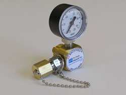 zone valve box guage (gage)